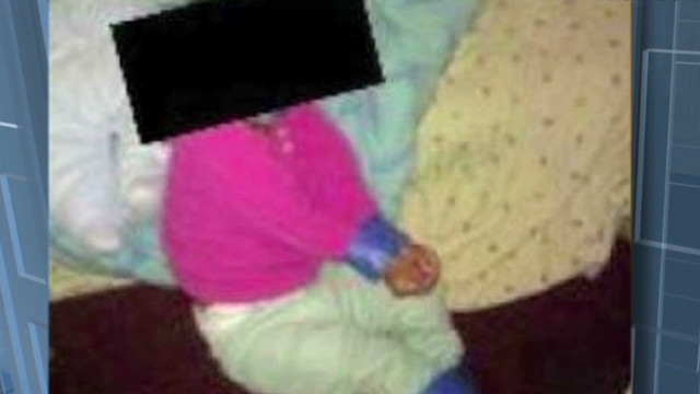 Facebook photo shows child bound, gagged