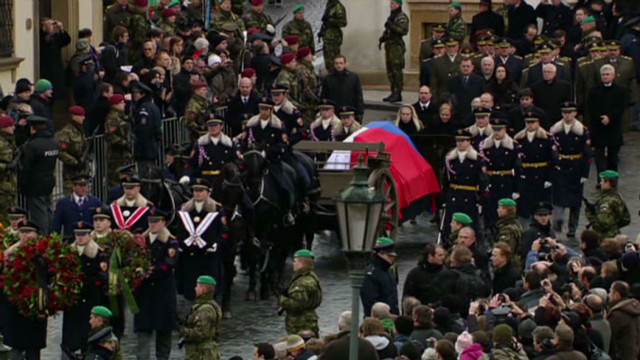Prague honors late Czech leader