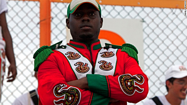 Florida A&M University drum major Robert Champion Jr. died in November 2011.