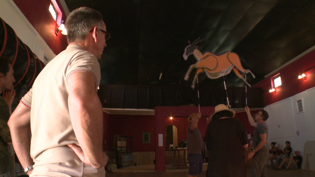 Puppet company masters the hype