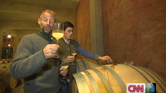 Toasting retirement with Thomas Muster