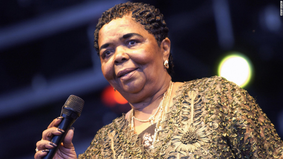 "Cesaria Evora, a talented singer who performed popular African islands music, died December 17. The Grammy-award winning artist was also known as the ""Barefoot Diva"" because she would often complete performances without wearing shoes. She was 70."