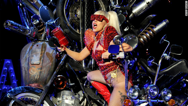 Singer Lady Gaga performs at KIIS FM's Jingle Ball at L.A. Live's Nokia Theatre on December 3, 2011 in Los Angeles, California