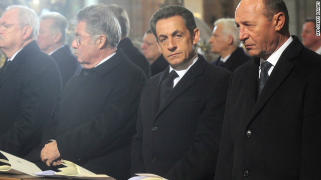 World bids farewell to Vaclav Havel