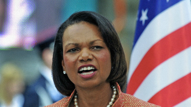 Former U.S. Secretary of State Condoleezza Rice speaking in Budapest in 2011.