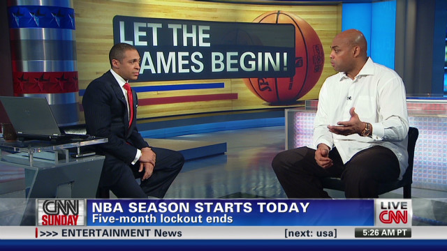Barkley previews NBA season