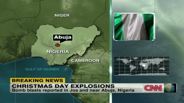 Christmas Day bomb blast in Nigeria