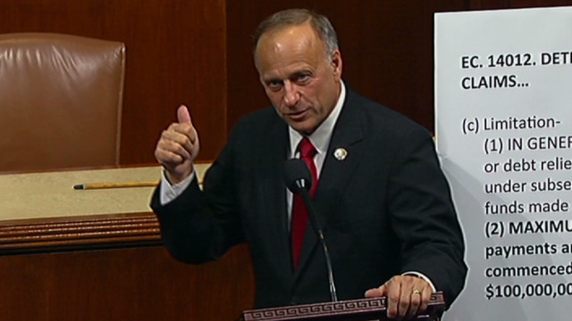 Rep. King: I must live with my GOP pick