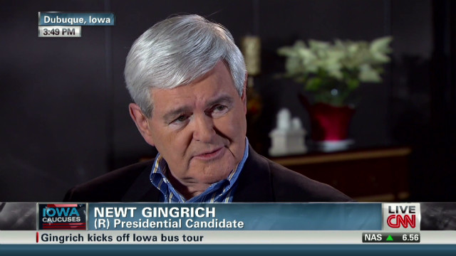 Gingrich: I am going to stay positive