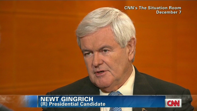 Gingrich health care flip-flop?