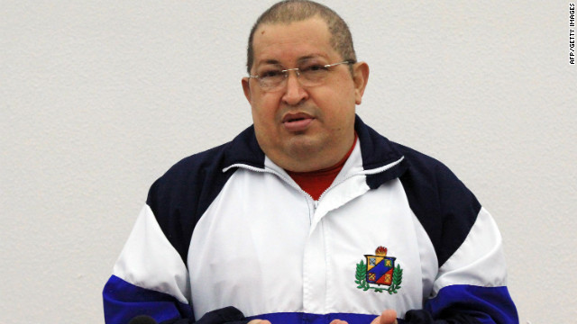 Venezuelan President Hugo Chavez speaks during a meeting with his Cabinet  in Caracas on December 19,.