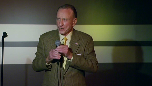 2011: Arlen Specter does stand-up