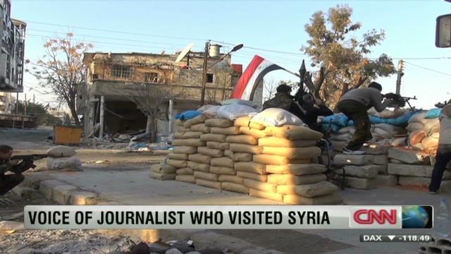 Journalist: Post-curfew deaths in Syria