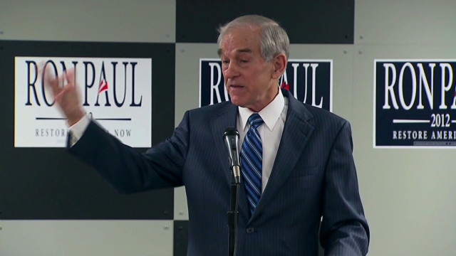 Ron Paul in the spotlight