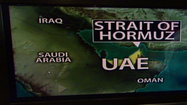 Tensions rise in the Strait of Hormuz