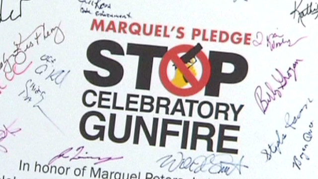 Crackdown on New Year's gunfire