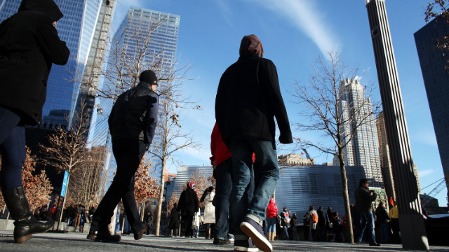 Over 1 million people have visited the September 11 memorial in New York, officials announced Thursday.