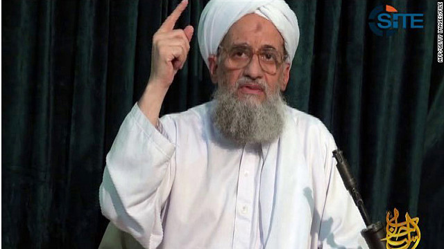 "Ayman al-Zawahiri called for ""a million free and noble people"" to rise up against Pakistan's military leadership."
