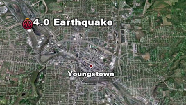 Earthquake rattles eastern Ohio