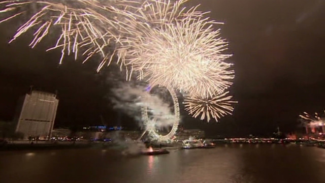 London celebrates 2012