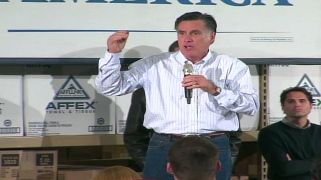 Romney: 'I'm here to collect'