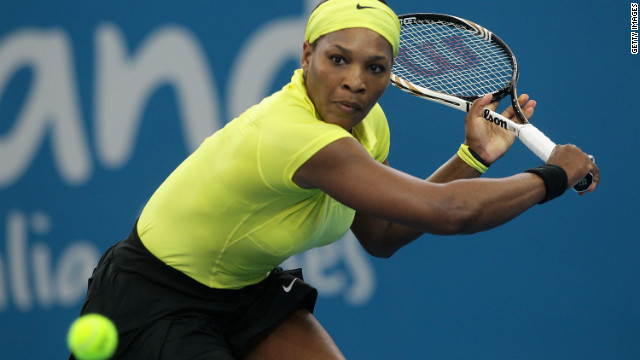 Serena Williams made an impressive comeback in Brisbane despite her revelations afterwards.