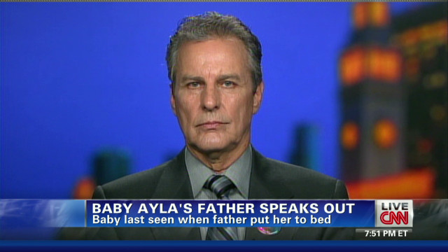 Baby Ayla's father speaks out