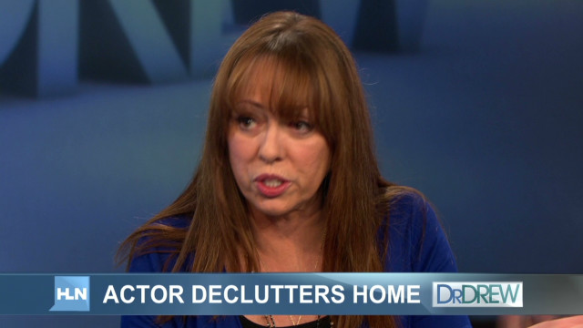 Mackenzie Phillips deals with clutter
