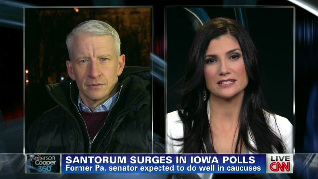 Will Santorum win in Iowa?