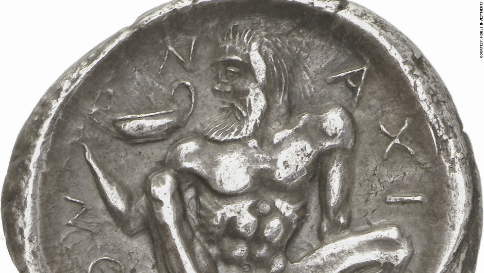 "Paul Hill, expert on ancient Greek coins, says many of the examples in the collection are ""miniature works of art."""