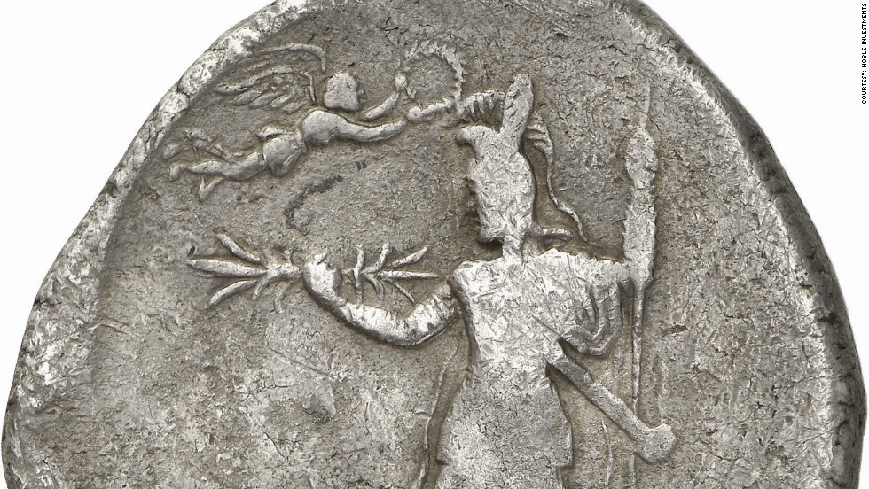 Others, such as this silver Dekadrachm featuring the figure of Alexander the Great, are of historical significance.