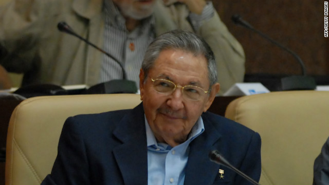 Cuban President Raul Castro at the National  Assembly on December 23, the day he announced a mass pardon for 2,900 prisoners