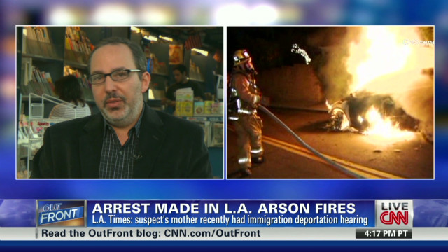 Reporter: Arson suspect from Germany