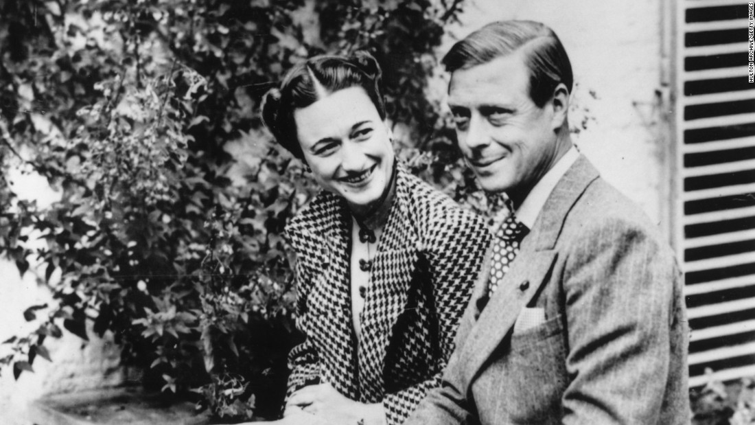 After his abdication, Edward VIII was known as the Duke of Windsor. He and the Duchess lived mainly in France for the rest of their lives.