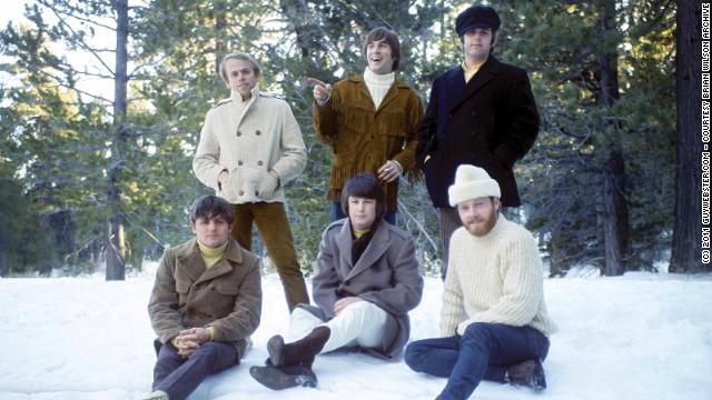 "The Beach Boys circa ""Smile"": Clockwise from top left, Al Jardine, Dennis Wilson, Carl Wilson, Mike Love, Brian Wilson, Bruce Johnston."