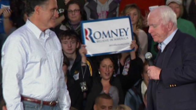 McCain endorses Mitt Romney