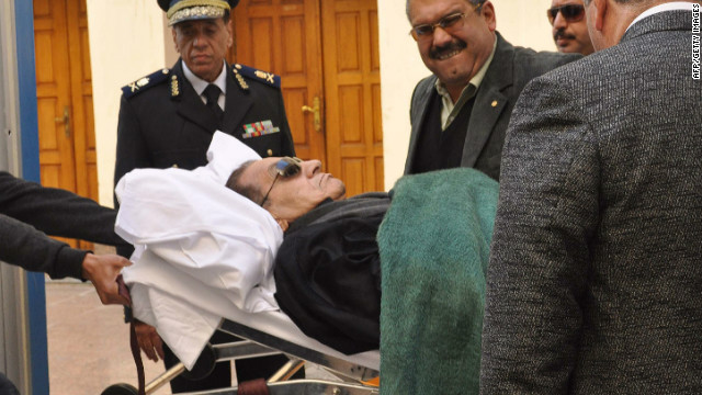Could Mubarak be sentenced to death?