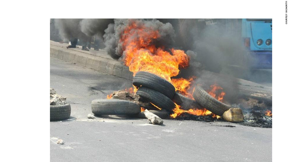 """""""The mood was one of anger and frustration towards the government for doing this on New Year's Day,"""" Kfire said."""
