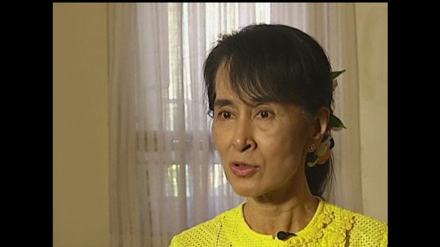 Suu Kyi: There is chance for real change