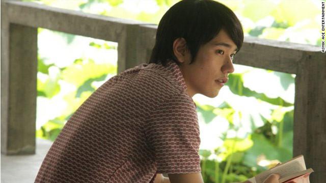 """Ken'ichi Matsuyama stars as Toru Watanabe in the Japanese film """"Norwegian Wood,"""" based on the Haruki Murakami novel ."""