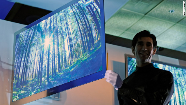 At CES 2010, Samsung unveiled an LED TV that's as thin as a pencil. Expect 2012 to bring even thinner displays.