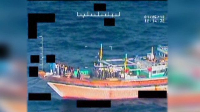 U.S. Navy rescues Iranian sailors