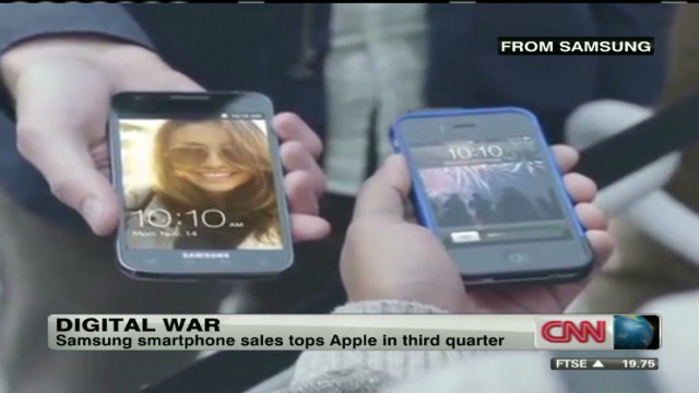 Digital war: Apple vs. Samsung