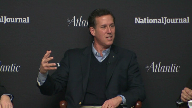 Santorum: Obama 'snobbery' on college