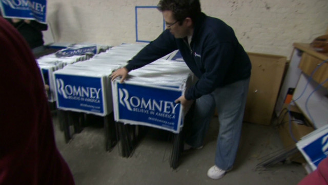 Mitt Romney campaign operation in NH