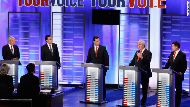 GOP candidates faced off Saturday in the first of two debates leading up to the New Hampshire primary on January 10.