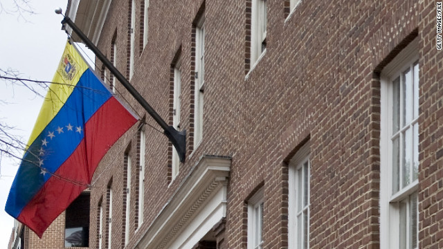 The Venezuelan Embassy in Washington was informed of the decision Friday, a State Department spokesman said.