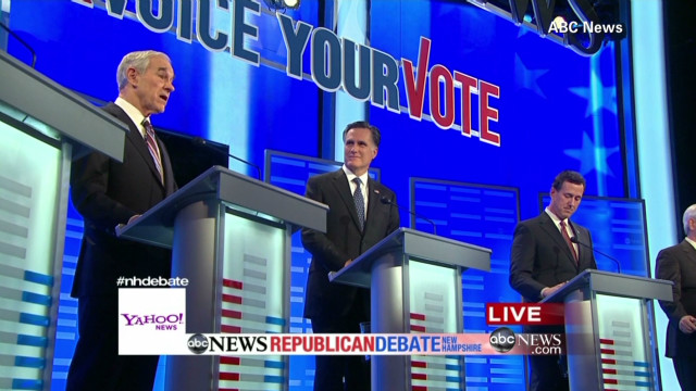 Debate in New Hampshire