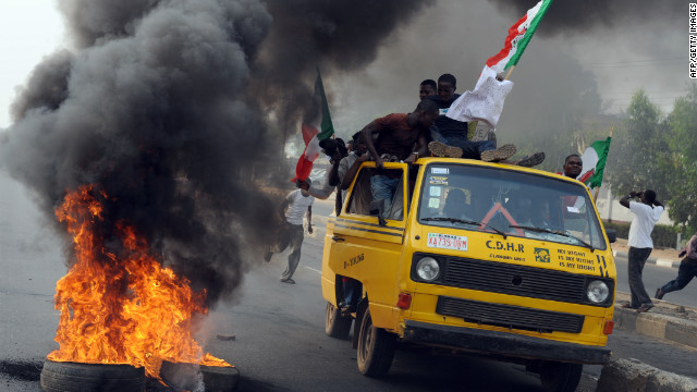 Economic, sectarian tensions in Nigeria