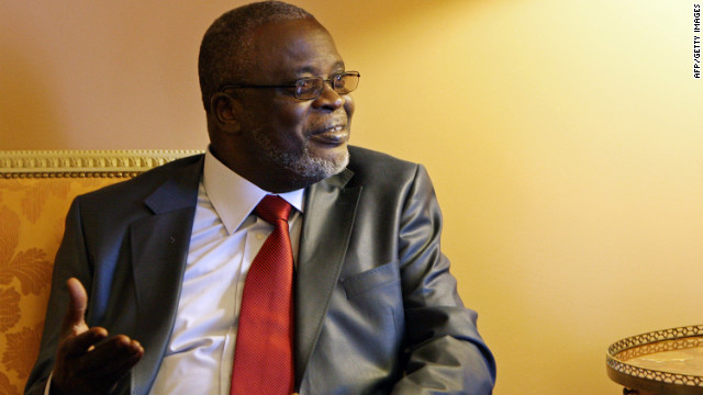 Guinea Bissau's President Malam Bacai Sanha pictured in Lisbon on February 17, 2010.